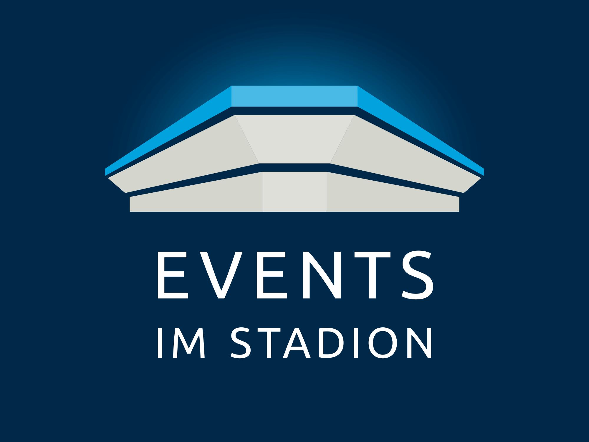 Logo Events im Stadion